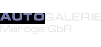 Autogalerie Maroge Heilbronn Logo png weiss